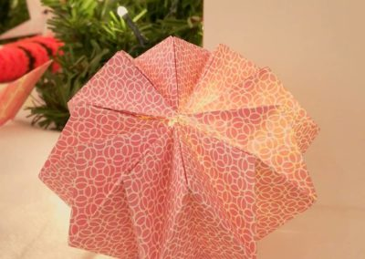 amt design, le point virgule, origami, guirlande