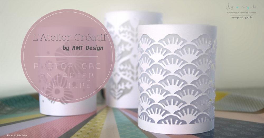 Atelier Photophore en papier