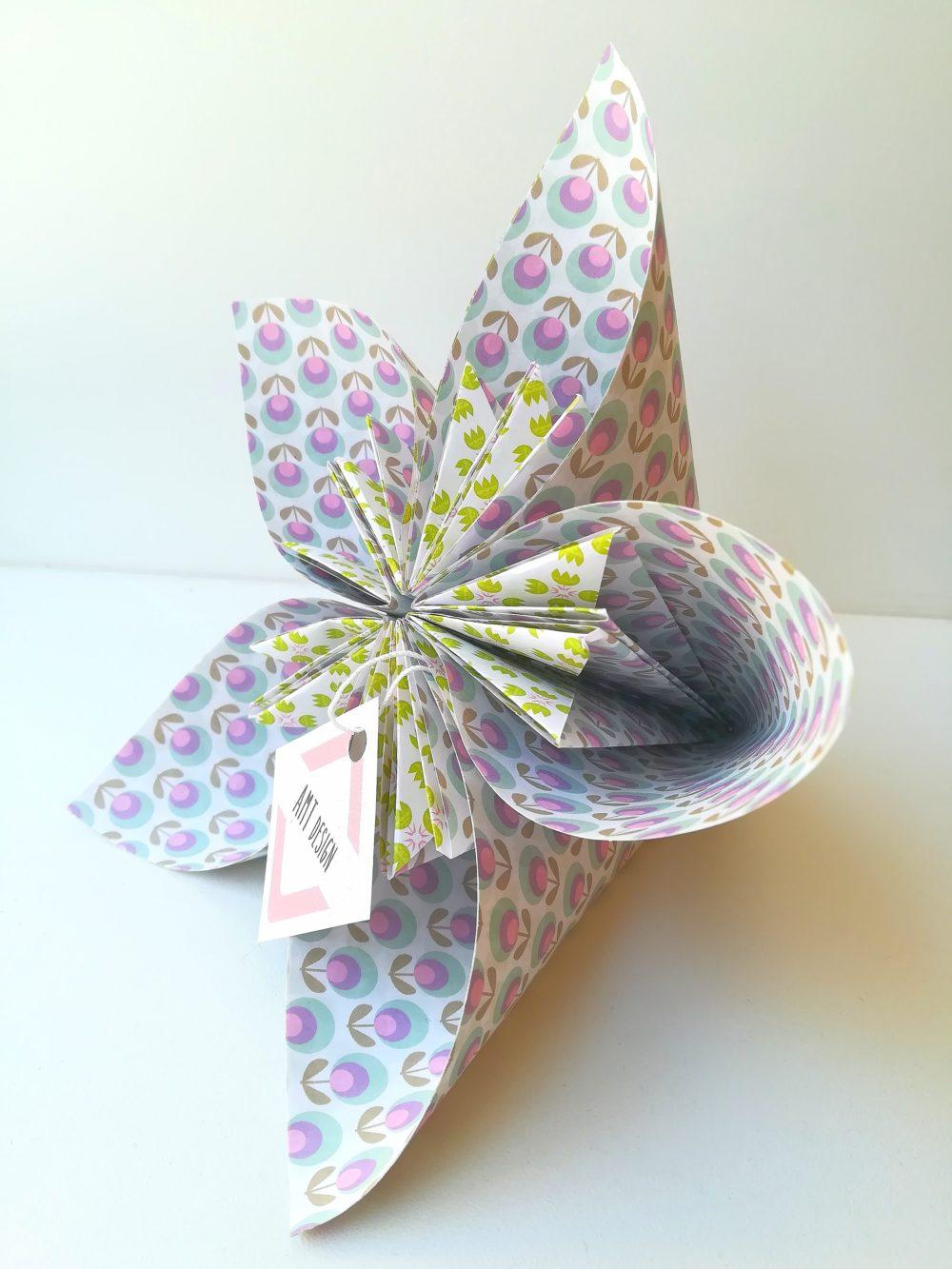 origami, décoration d'intérieur, fait main, handmade, décoration