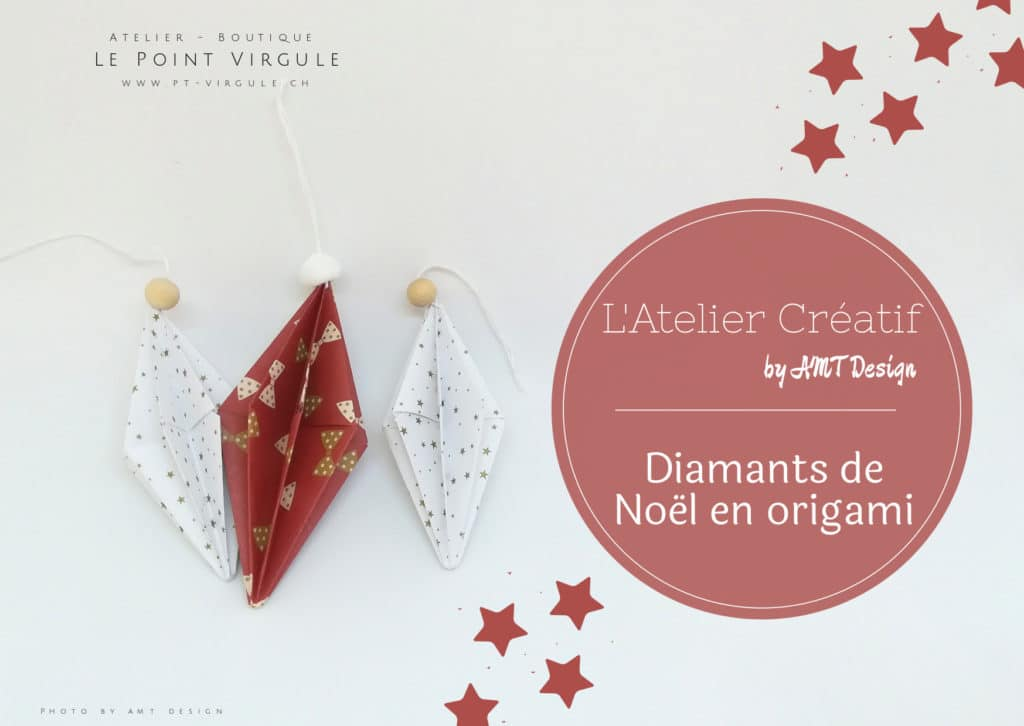 Atelier créatif adultes - décoration diamants pour Noël