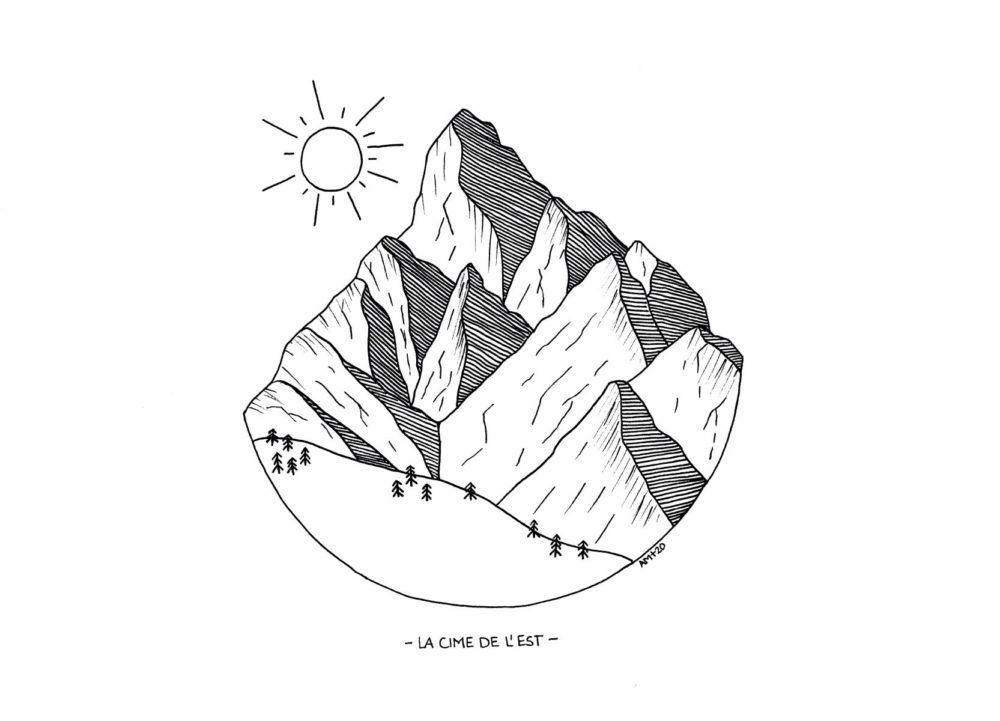 Illustraton Cime de l'Est
