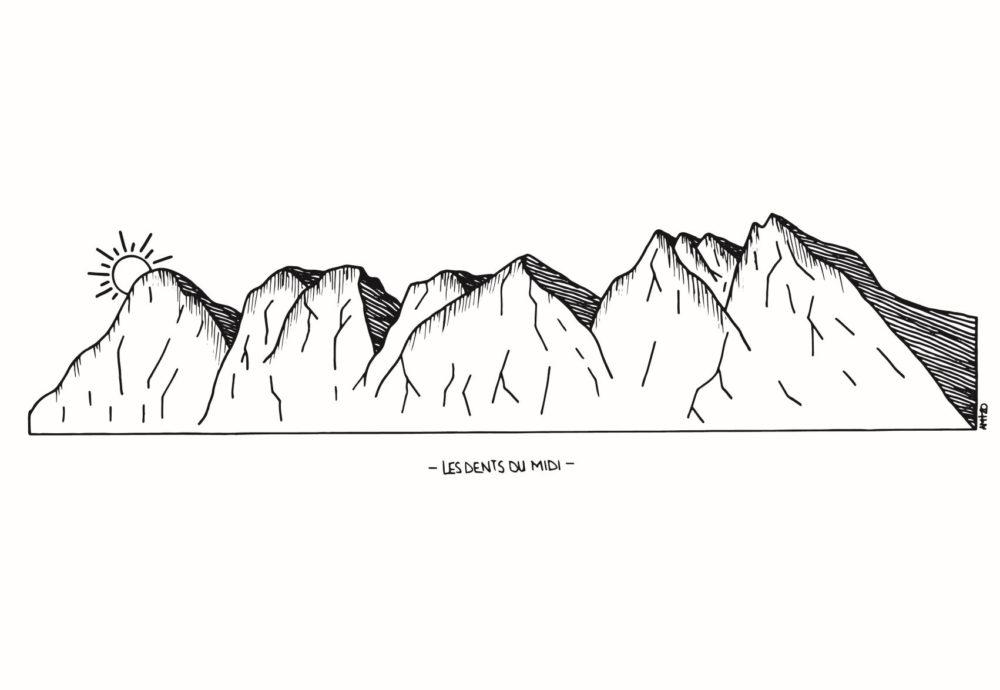 Illustration Dents du Midi