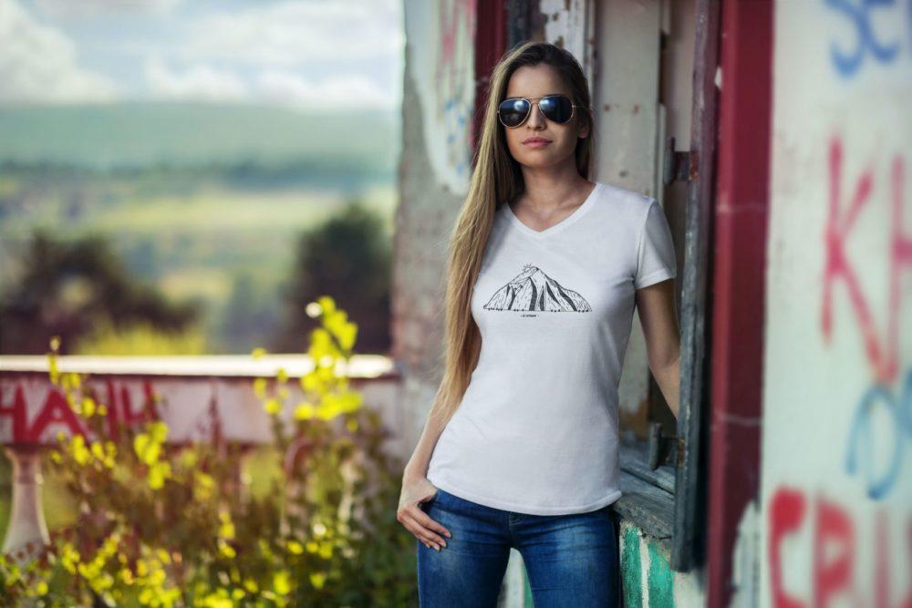 T-shirt femme Catogne Blanc