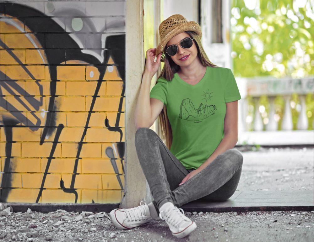 Pierre Avoi - T-shirt femme Vert