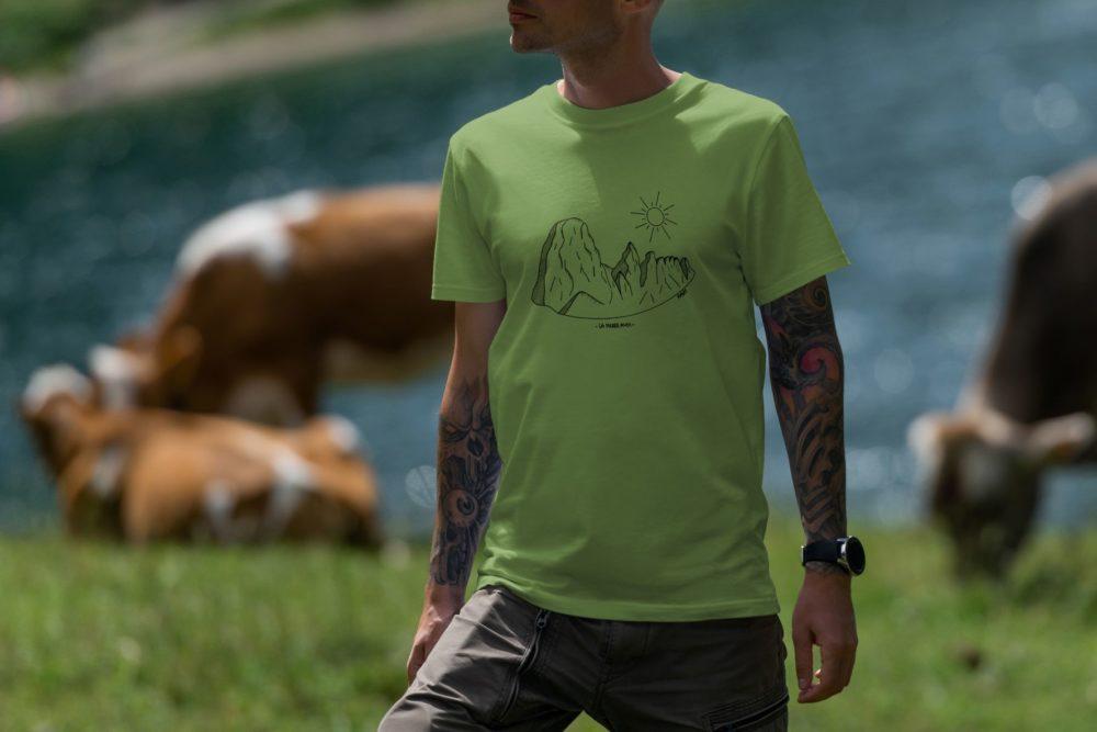 Pierre Avoi - T-shirt homme vert